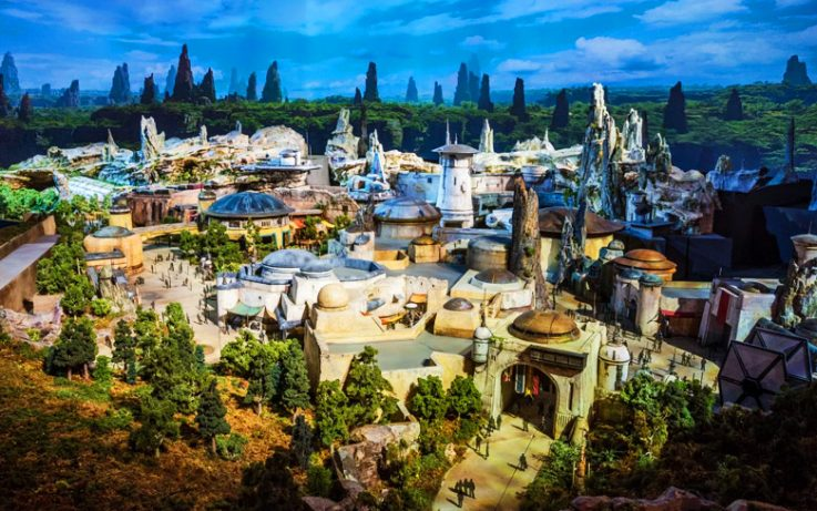 Star Wars Disney Theme Park