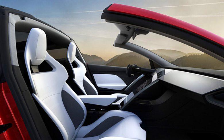 Tesla Roadster Augmented Mode