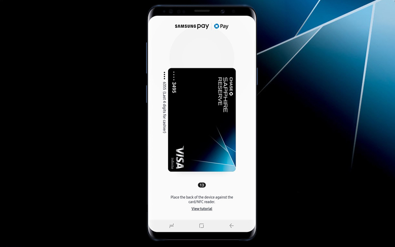 Chase Pay and Samsung Pay