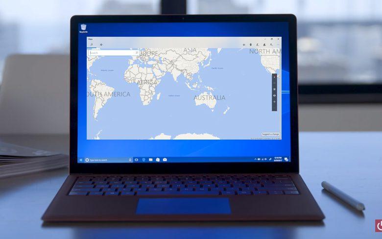 Microsoft Maps App