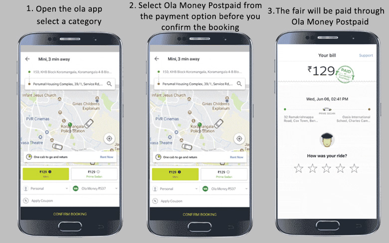 Ola Money Postpaid