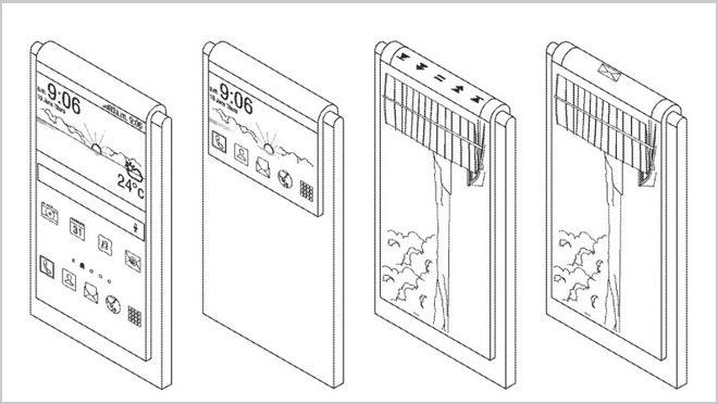Samsung Flexible Display Design