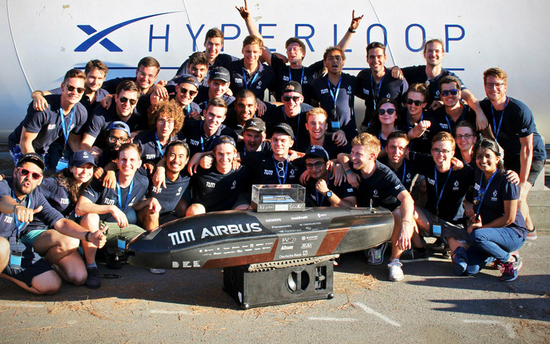 2018 Hyperloop Pod Competition