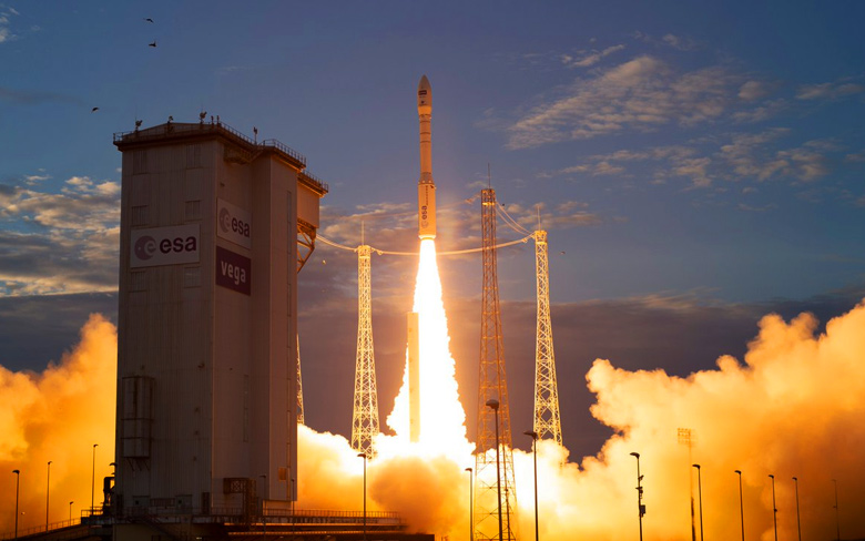 Aeolus Lifts Off