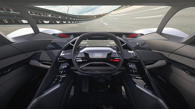 Audi PB 18 E-Tron Race Car