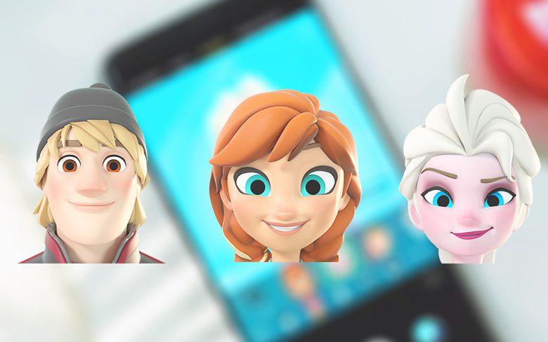 Galaxy S9 Frozen AR Emojis