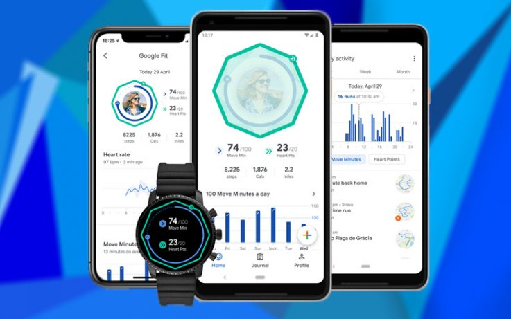 Redesigned Google Fit comes with new activity goals to