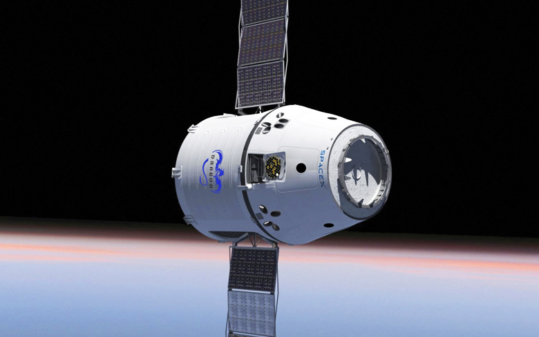 SpaceX Cargo Spacecraft