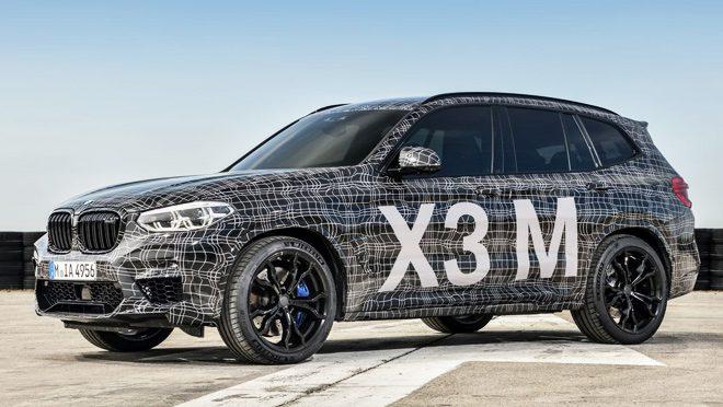 BMW X3 M Back