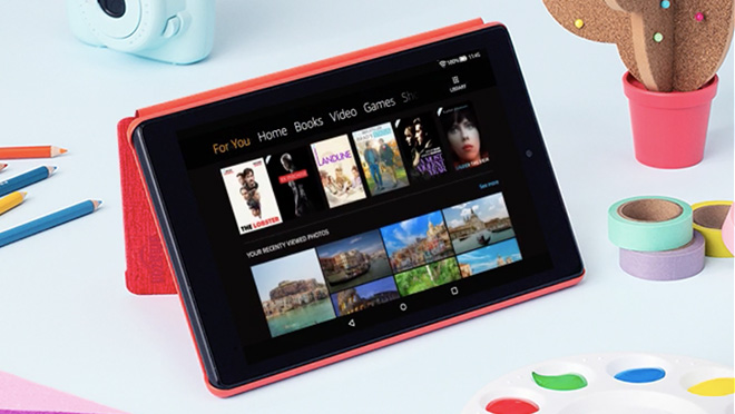 Amazon launches new tablet that's a lot cheaper than an iPad