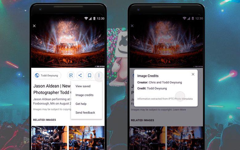 Google Image Rights Metadata