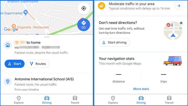 Google Maps New Tab
