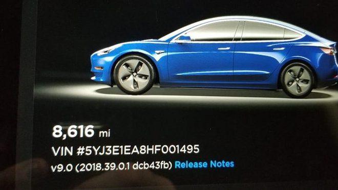 Tesla Model 3 Car