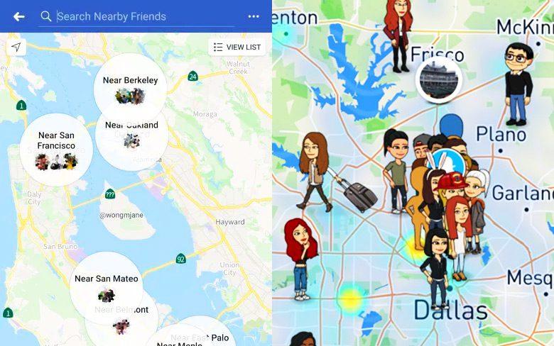 Facebook Nearby Friends