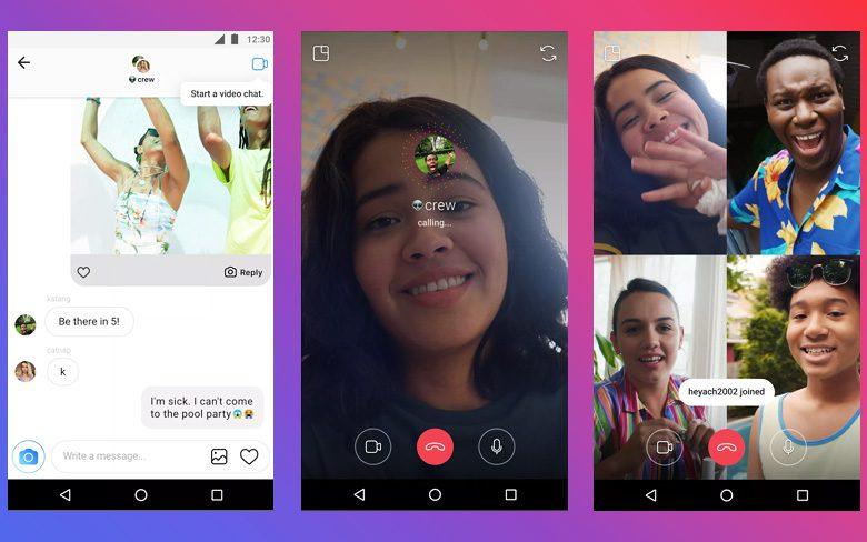 Instagram Video Calling