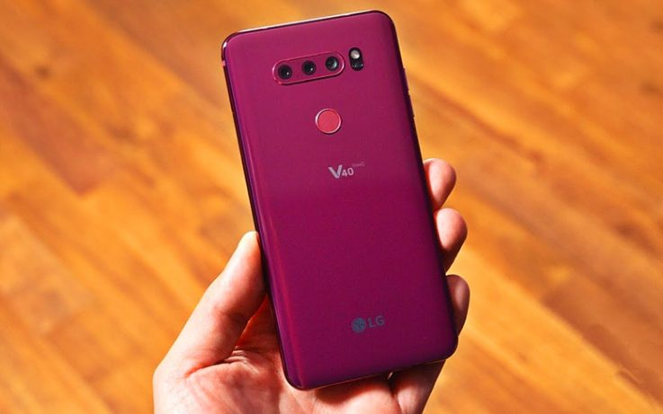 LG V40 ThinQ Phone