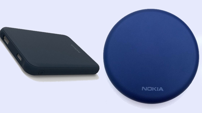 Nokia 9 PureView and Wireless Charger