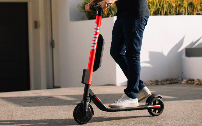Uber e-scooters