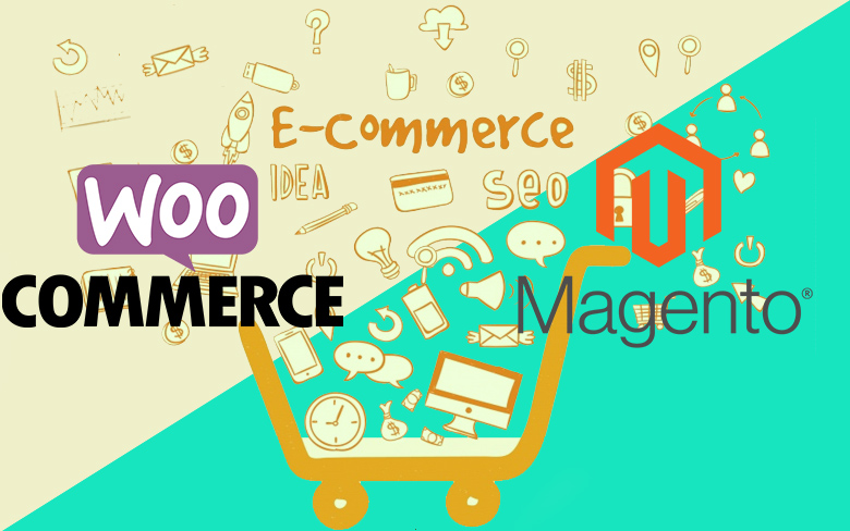 WooCommerce or Magento
