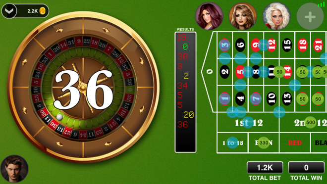 Roulette Live Casino All In
