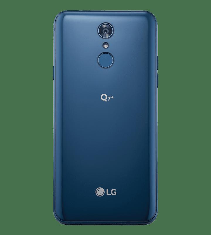 LG Q7 Plus Back