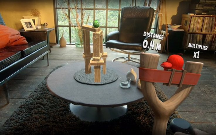 Angry Birds VR Game