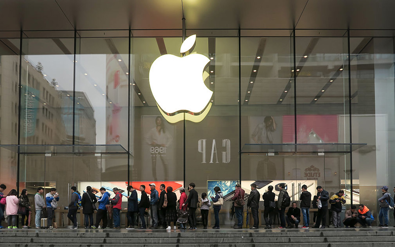 Apple Bans iPhone Sale