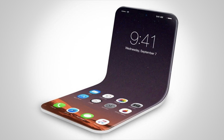 Apple Folding Smartphone