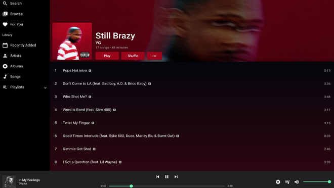 Apple Music Web Player
