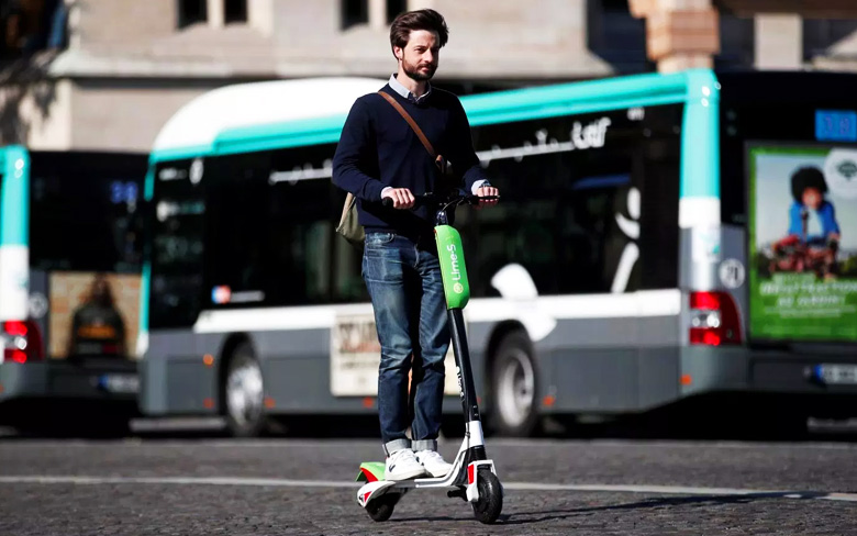 Google Lime Scooter