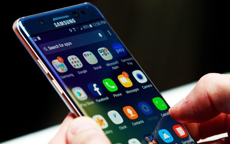 Samsung Blockchain Phone