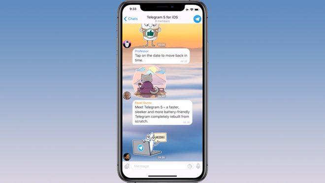 Telegram Version 5 iOS
