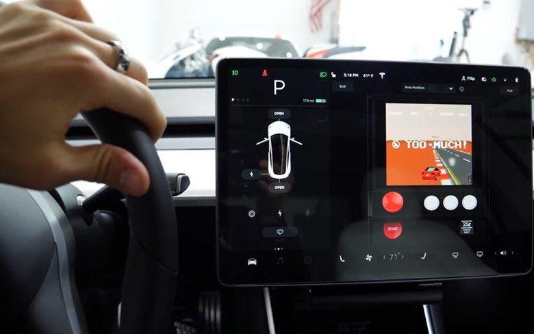 Tesla Classic Pole Position Game