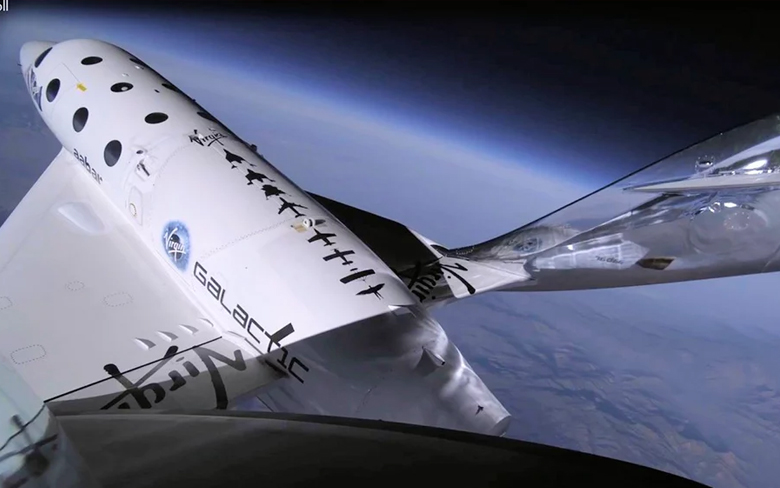 Virgin Galactic's VSS Unity supersonic plane makes historic space flight