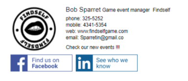 Email Signature Event 1