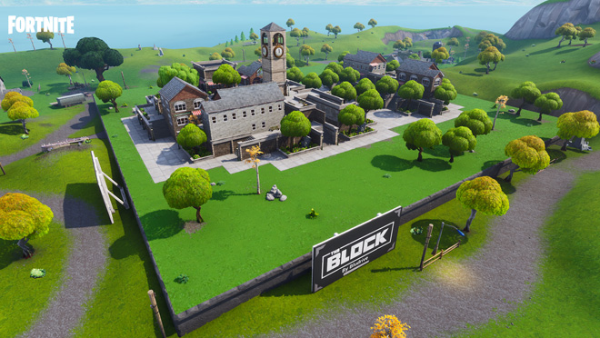 Fortnite Battle Royale Block