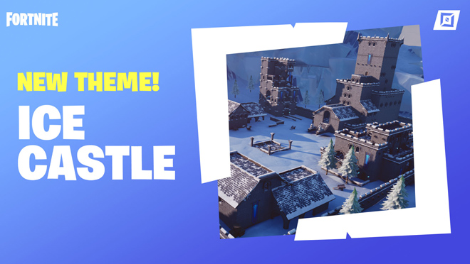 Fortnite Ice Castle Prefabs