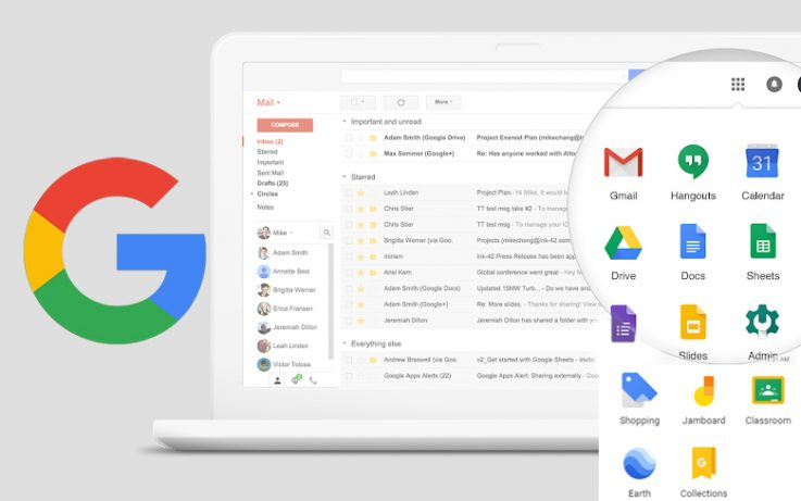 Google G Suite Update