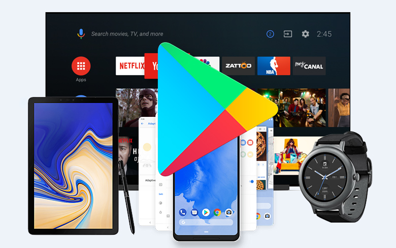 Google Play Android DevicesGoogle Play Android Devices