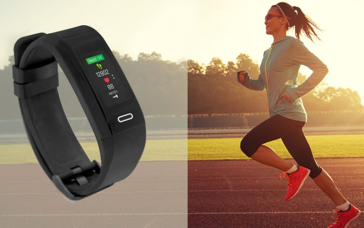 GoQii Run GPS Fitness Band