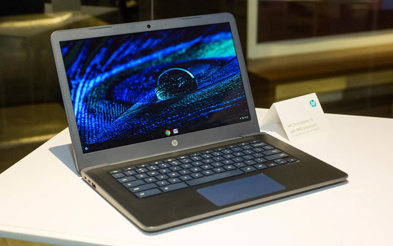 HP Chromebook with AMD