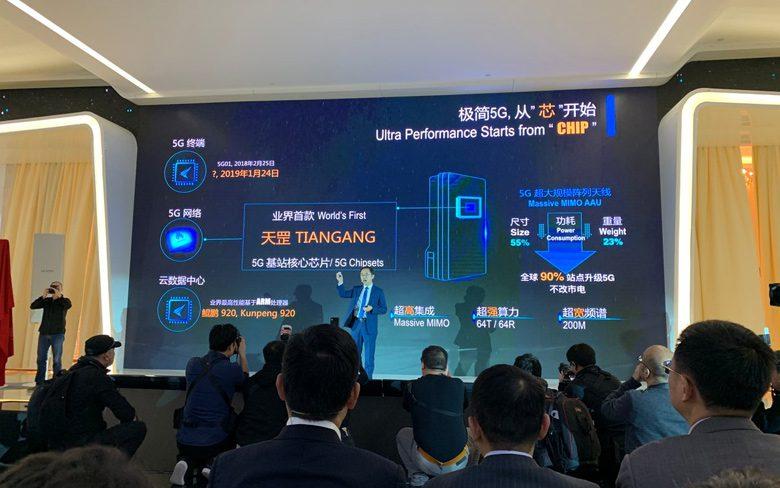 Huawei 5G Base Station Chip