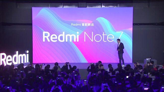 Redmi Note 7 in China