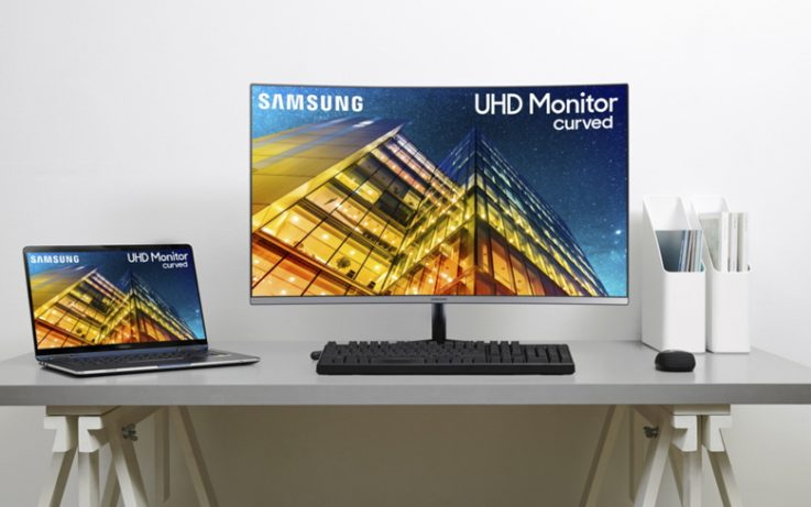 Samsung UHD Monitor Curved