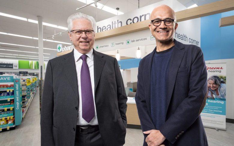 Walgreens and Microsoft