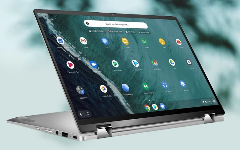 Asus Chromebook Flip C434 Display Showing An Apps
