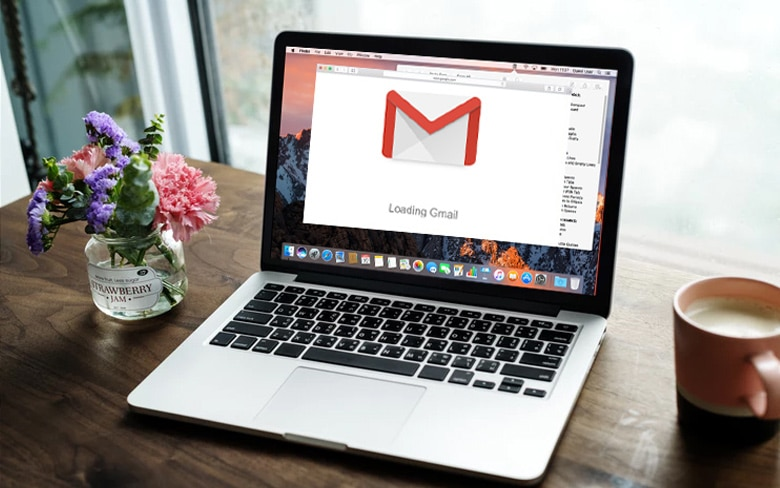 Google Gmail Opening On MacBook