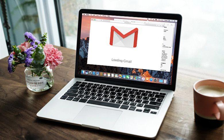 Google Gmail Opening On MacBook