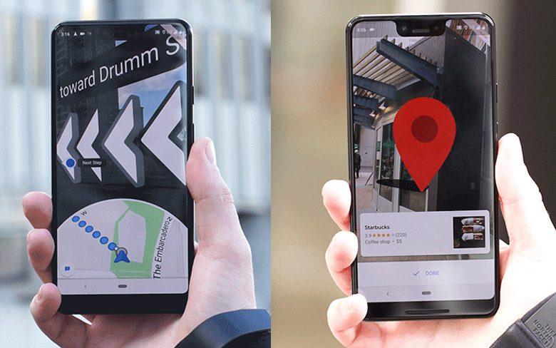 Google Maps AR Navigation