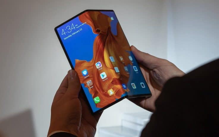 Huawei Mate X Front View